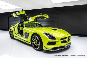 SLS unicat, creaţia AMG Performance Studio