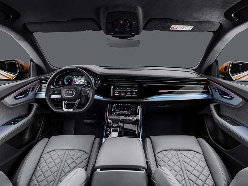 Audi Q8 - interior, bord