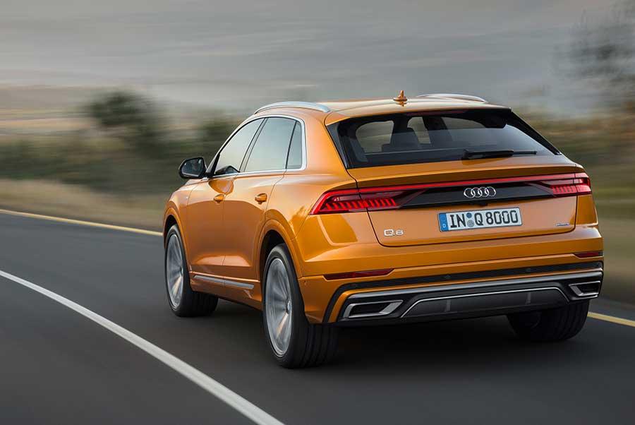 Audi Q8 - spate