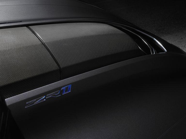 Corvette ZR1 2019 sigla