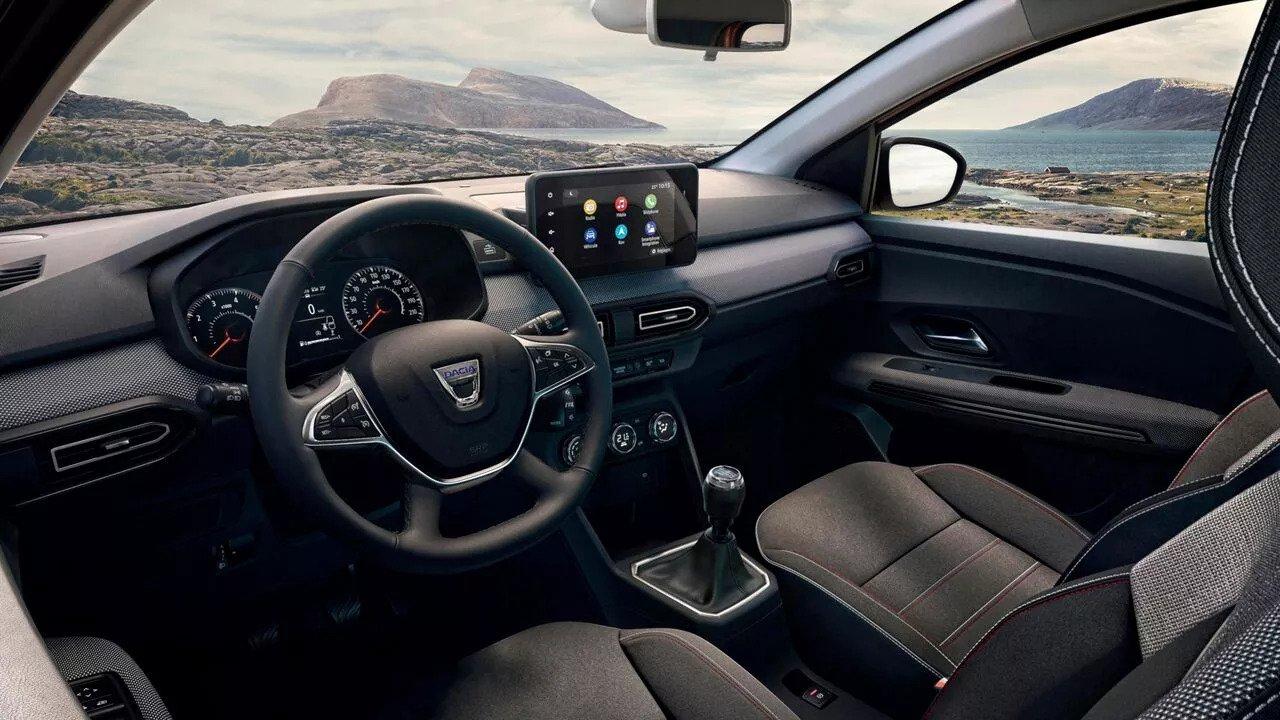 Dacia Jogger - interior