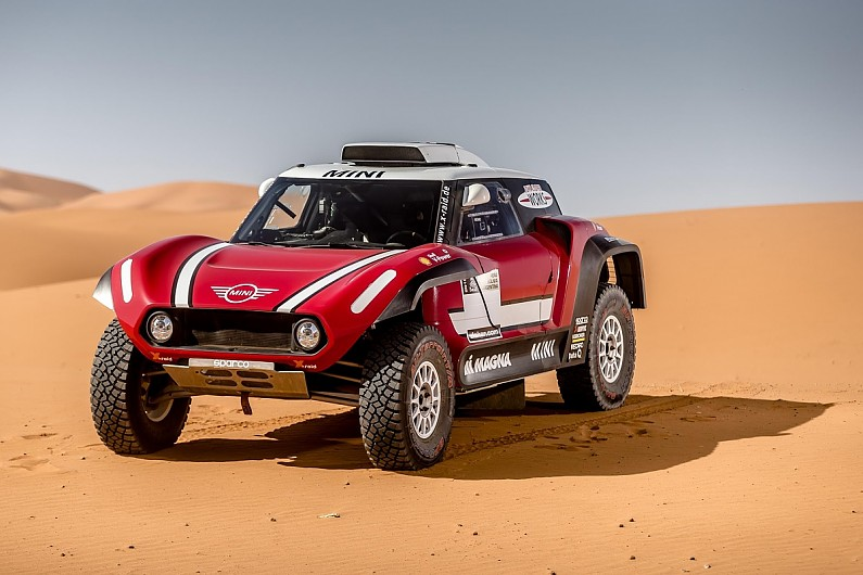Mini buggy Raliul Dakar 2018