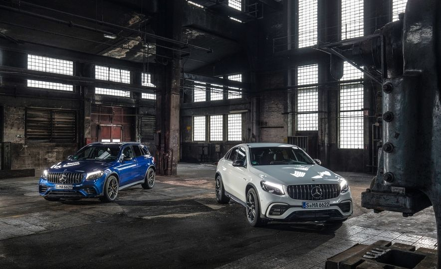 2018 Mercedes AMG GLC63 SUV and Coupe