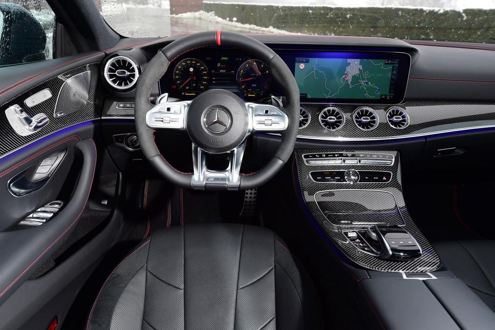 Mercedes-Benz CLS bord