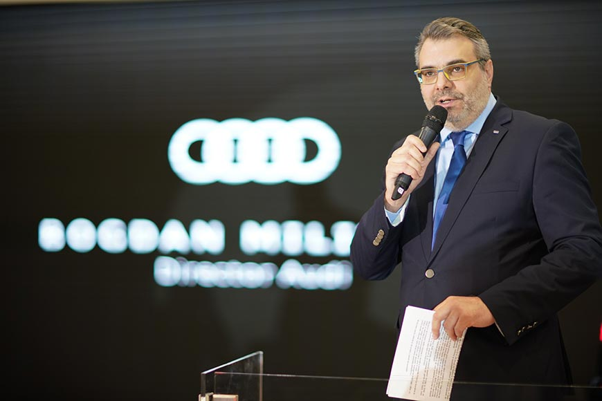 Bogdan Militaru Director Marca Audi