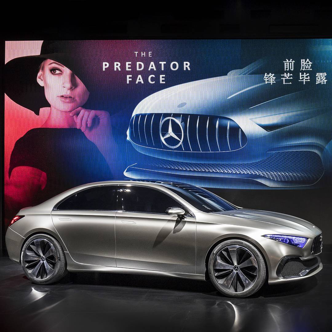 Mercedes Concept A Sedan : Shanghai Motor Show