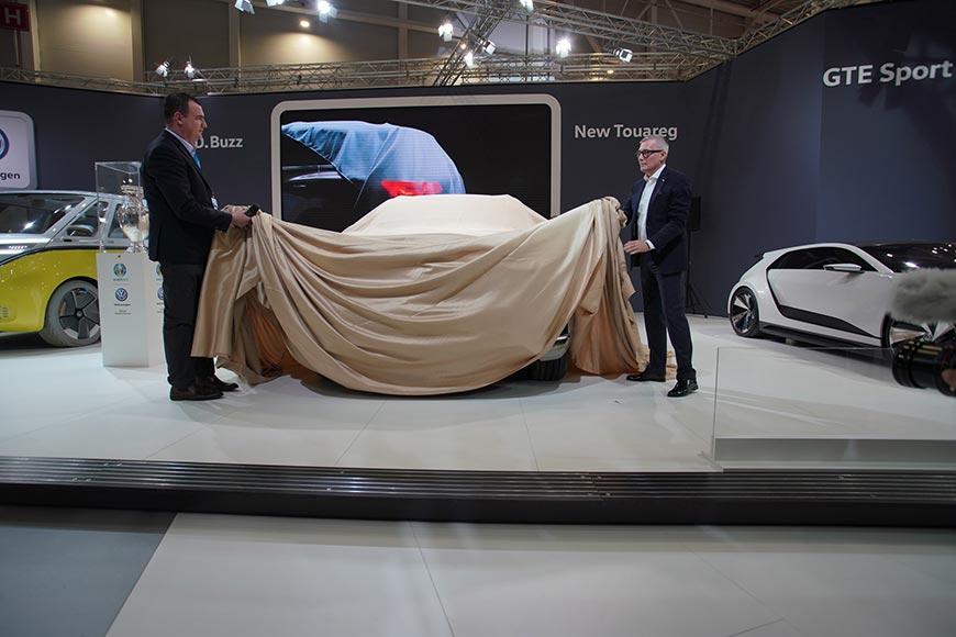 Volkswagen Touareg SIAB 2018