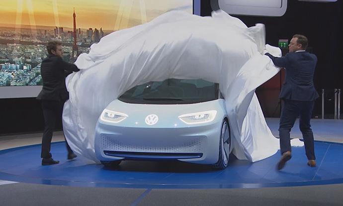 Volkswagen I.D. concept Paris