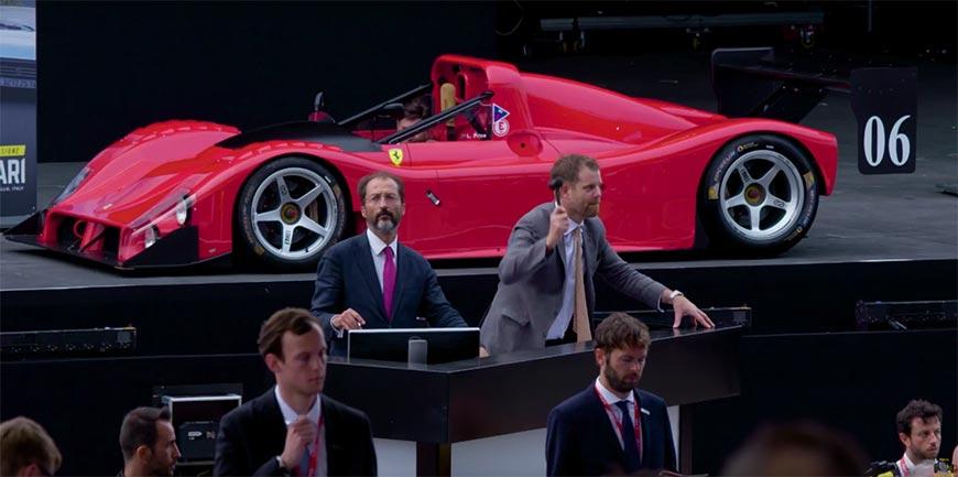 Ferrari 70 licitatie