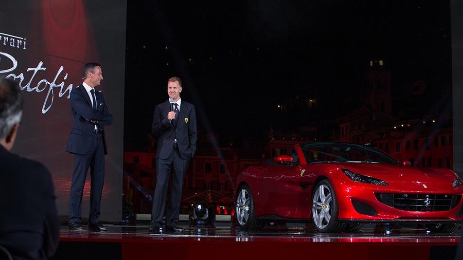Ferrari Portofino - Sebastian Vettel